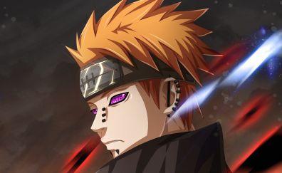 Pain, Naruto, anime boy, face