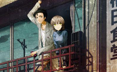 Rintarou okabe, suzuha amane, anime