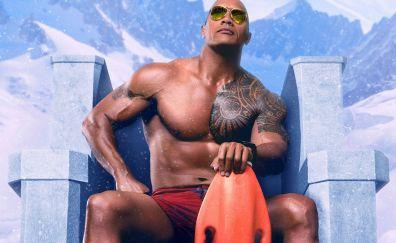 Dwayne Johnson, baywatch movie