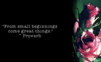 Proverb wallpaper