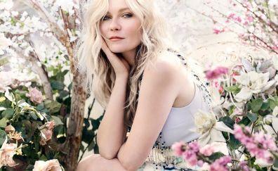 Kirsten Dunst, celebrity, flowers