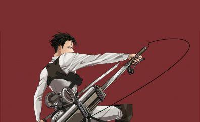 Attack on Titan, Levi Ackerman, anime