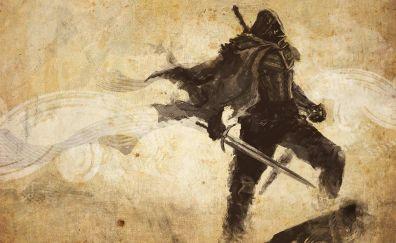 Joe Dever's Lone Wolf Video game, warrior