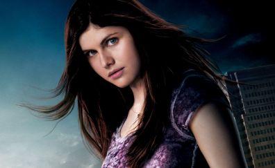 Percy Jackson & the Olympians: The Lightning Thief, 2010 movie, Alexandra Daddario, actress