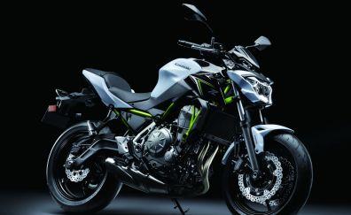 2017 Kawasaki Z650 bike