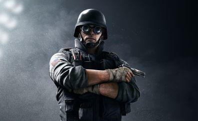 Tom Clancy's Rainbow Six Siege, FBI, swat, thermite video game