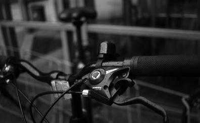 bike, bicycle, monochrome