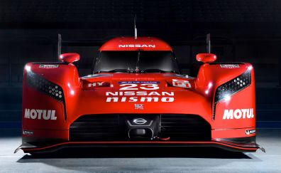 Nissan GT-R LM Nismo prototype racing car