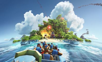 Boom beach mobile game