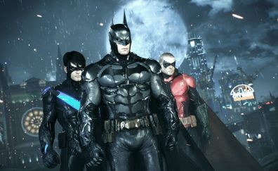 Batman: Arkham Knight video game, batman's team
