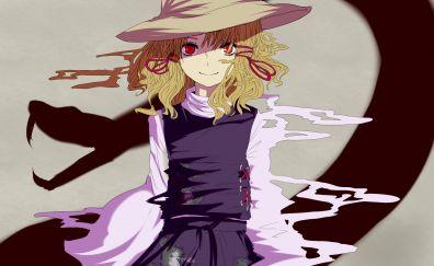 Touhou anime girl