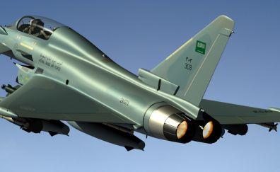 Eurofighter typhoon fighter plane