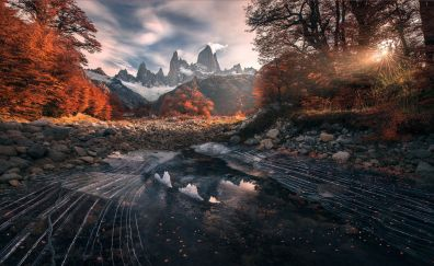Patagonia river