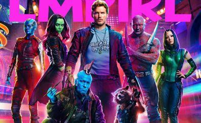 Guardians of the galaxy vol. 2 movie, all cast, marvel comics