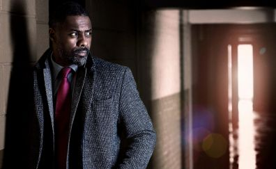 Actor, Idris Elba in Luther TV show
