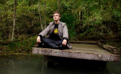 Dan Stevens, meditation, Legion TV series