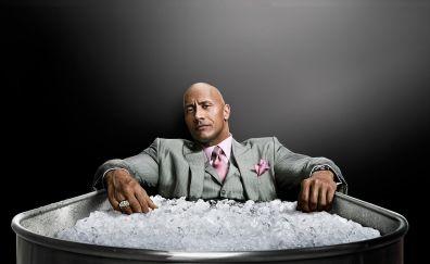 Ballers TV series, Dwayne Johnson, suit