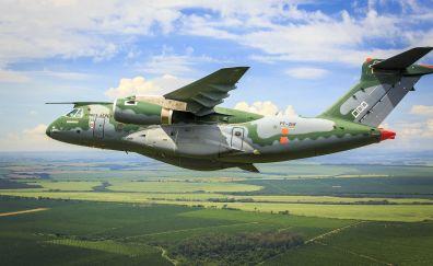 Embraer KC-390 airplane, aircraft