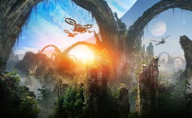 Pandora from avatar movie