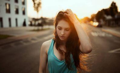 Janina Knopf, women model