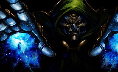 Dr. Doom, marvel comics, villain, art