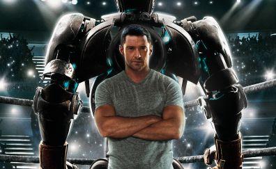 Real Steel movie, Hugh Jackman, actor