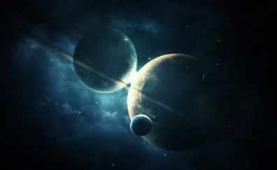 Planets with moon