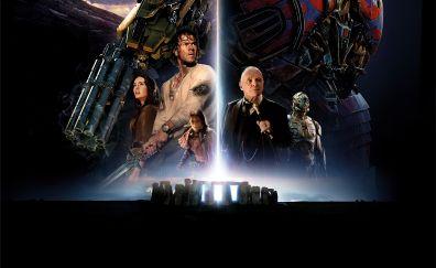 Transformers: The last knight movie, cast, robots, 2017