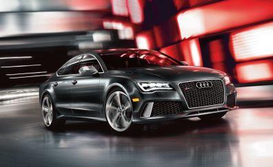 Audi RS7, sports, luxury car