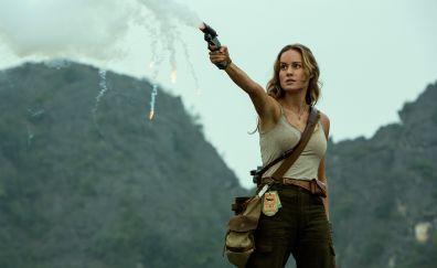 Brie Larson, Kong: Skull Island movie, celebrity