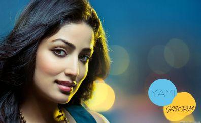 Smiling Yami Gautam actress