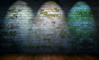 Background graphic layout stage, wall