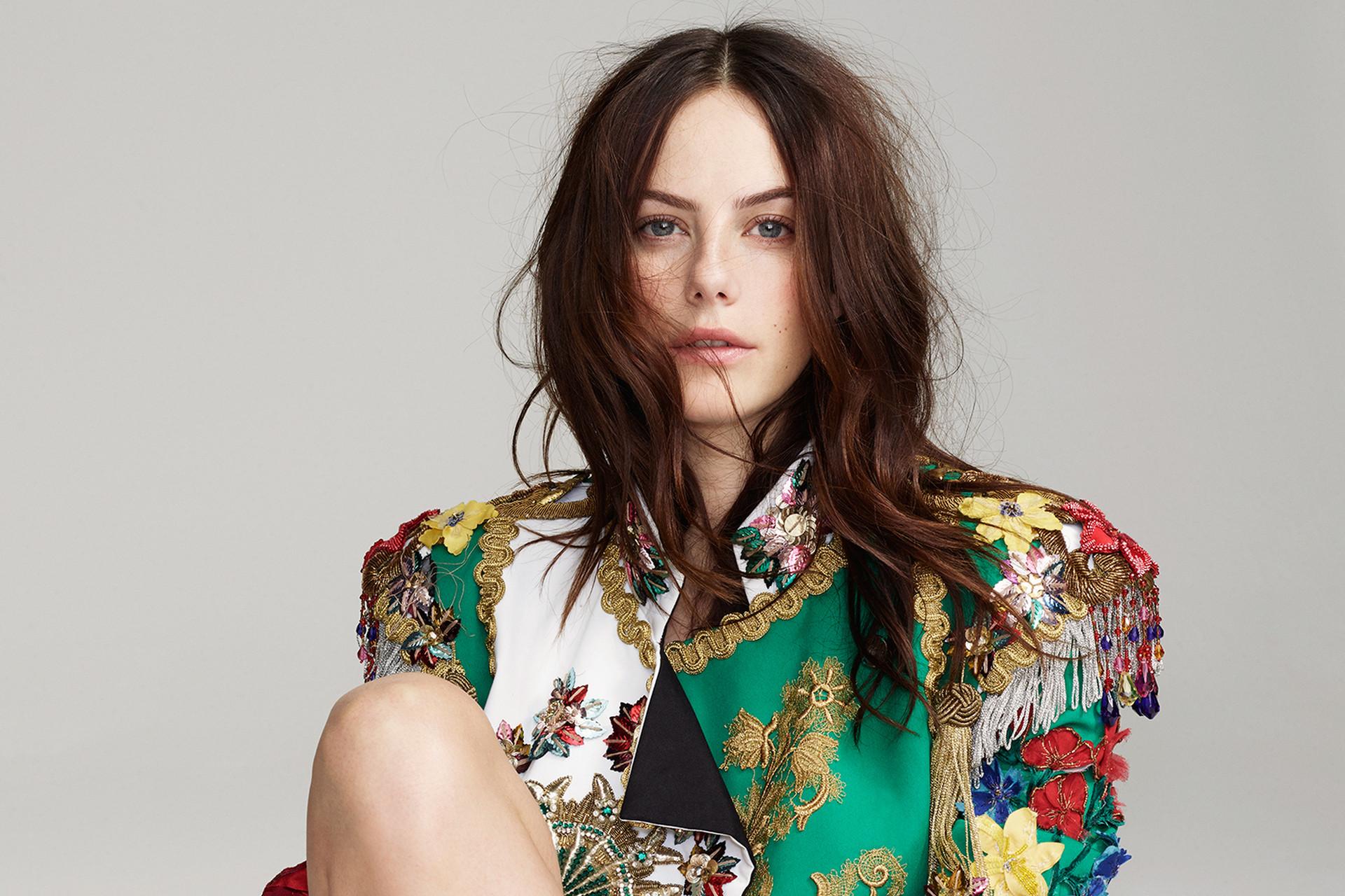 Beautiful actress, red head, Kaya Scodelario