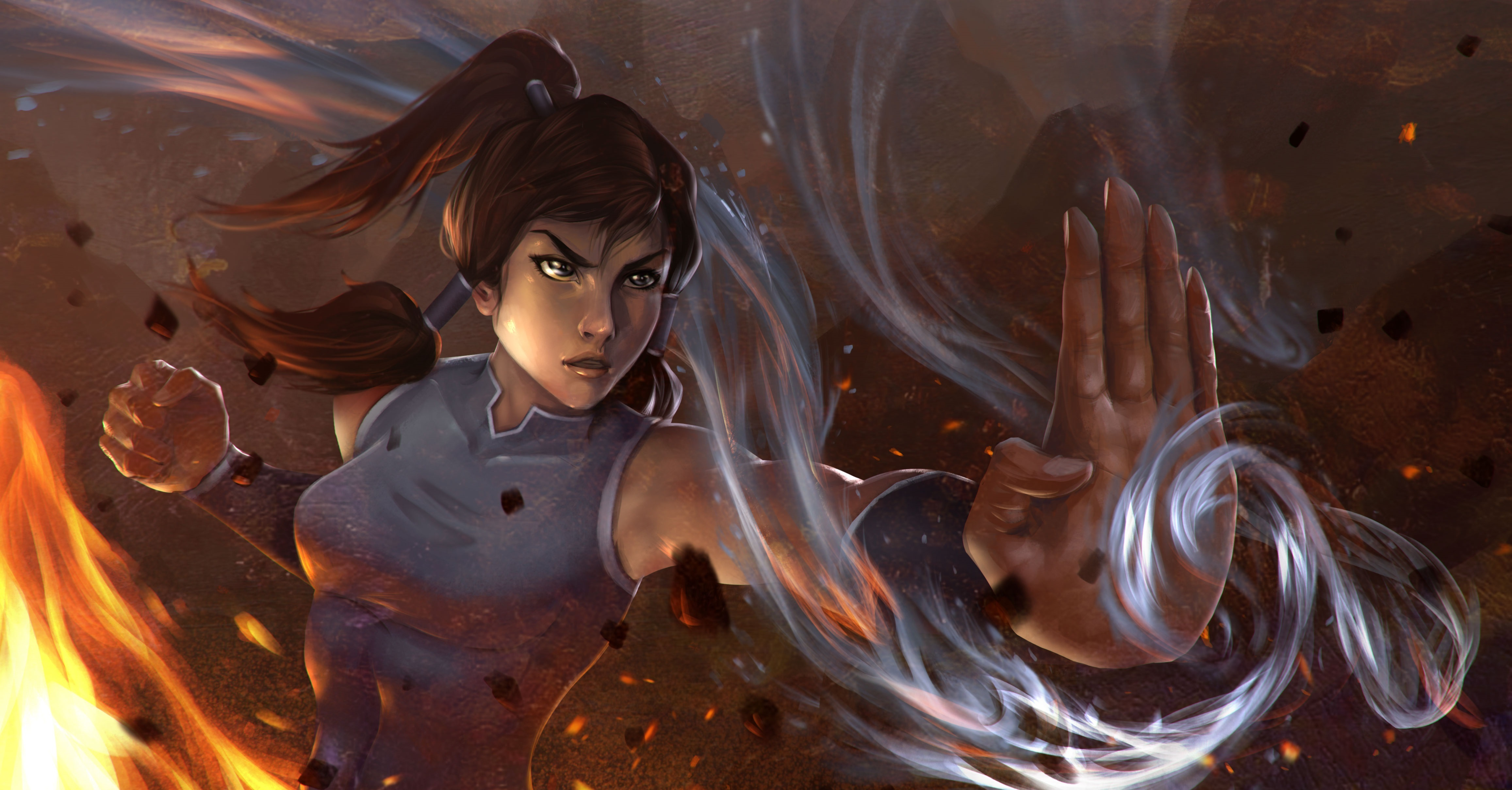 Avatar the legend of Korra cartoon TV series
