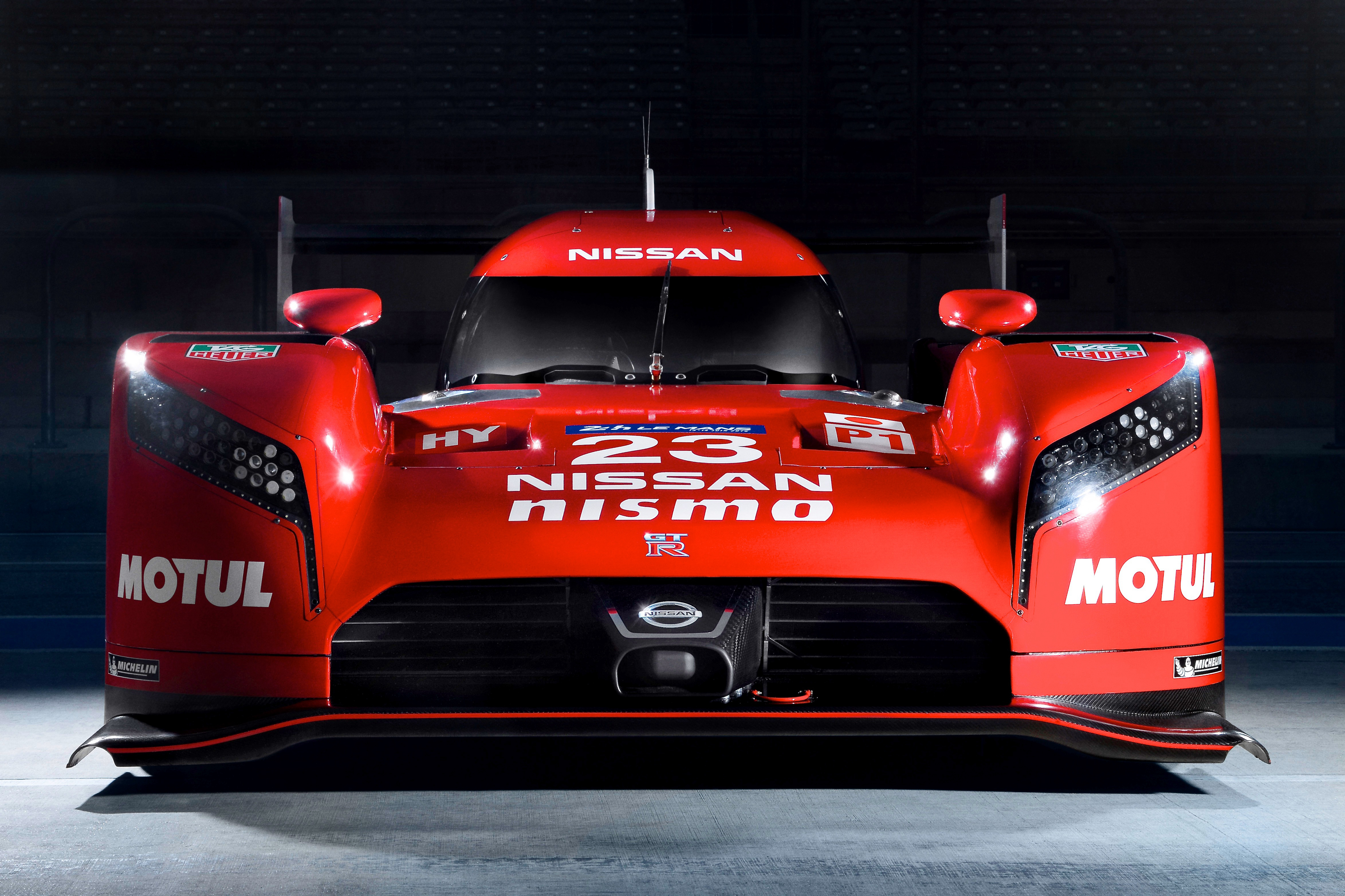Nissan GT-R LM Nismo prototype racing car